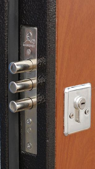 металлическая дверь мдф 4
