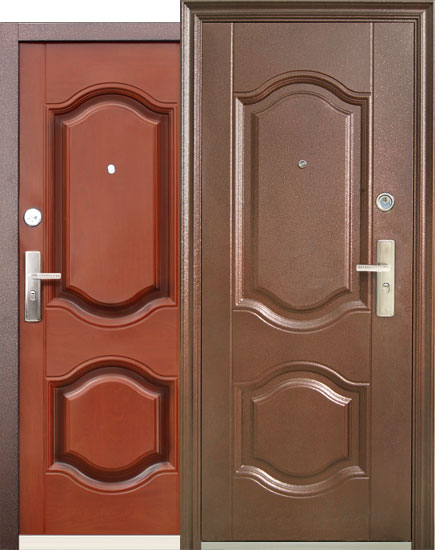стальные двери 90 см