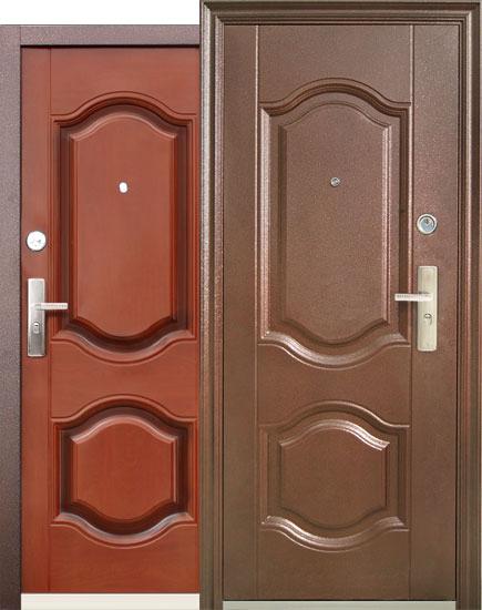 двери входные толщина 90см