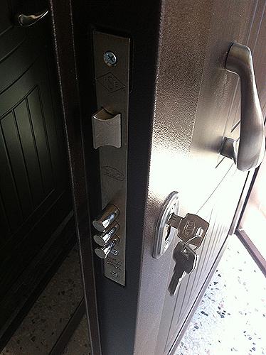 дверь металлическая наружная 2100 900