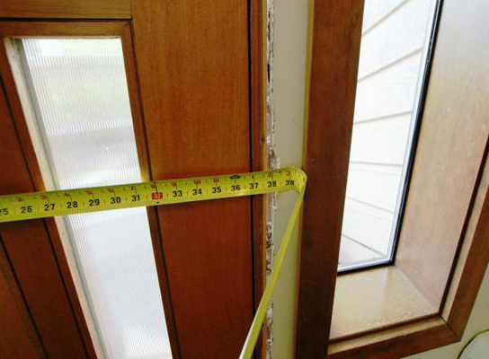 замер входных металлических дверей